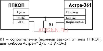 Извещатель утечки воды аварийного типа Астра-361 - 2
