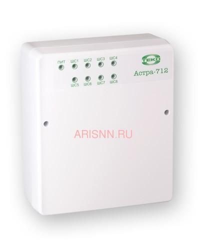 Прибор приемно-контрольный охранно-пожарный Астра-712/8 (ППКОП 01101349) - 1