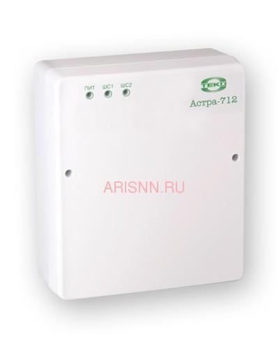 Купить прибор приемно-контрольный охранно-пожарный Астра-712/2 (ППКОП 01101349) - 1