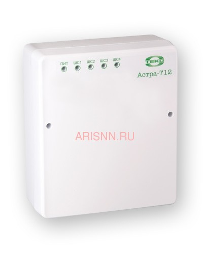 Прибор приемно-контрольный охранно-пожарный Астра-712/4 (ППКОП 01101349) - 1